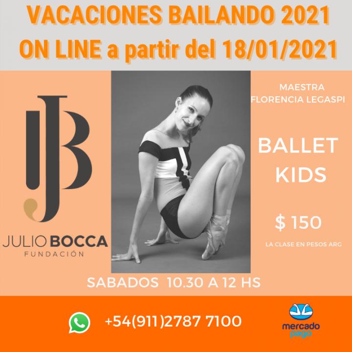 BALLET KIDS, FLORENCIA LEGASPI