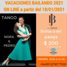 CLASES DE TANGO, NORA Y PEDRO