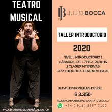 TALLER INTRODUCTORIO TEATRO MUSICAL